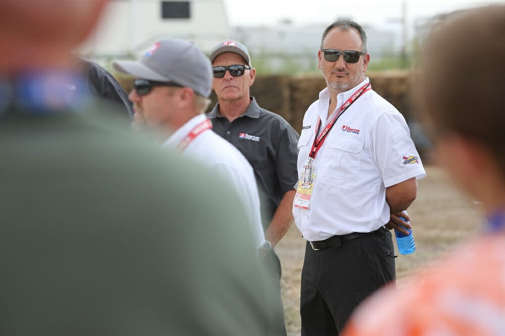 American Flat Track CEO Michael Lock
