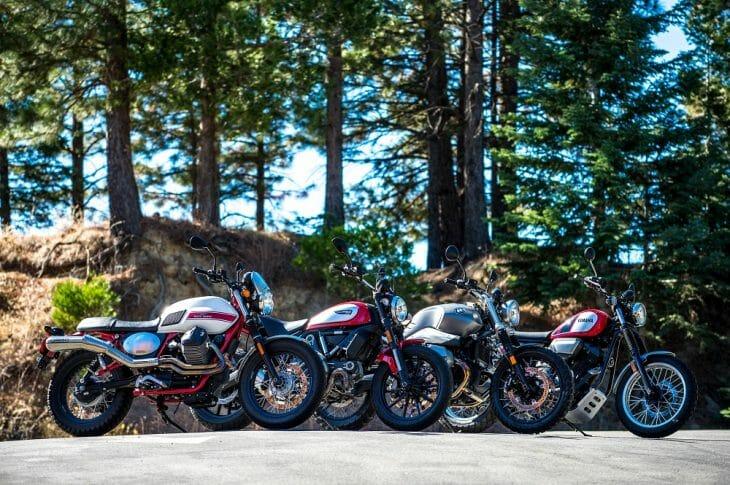 2017 Scrambler Motorcycle Comparison Test