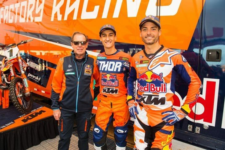 KTM Reveals 2018 U.S. Supercross Teams