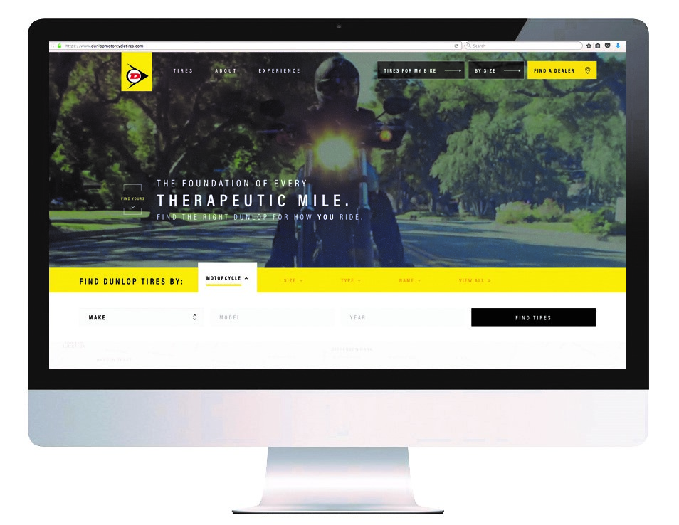 Dunlop Unveils New Website