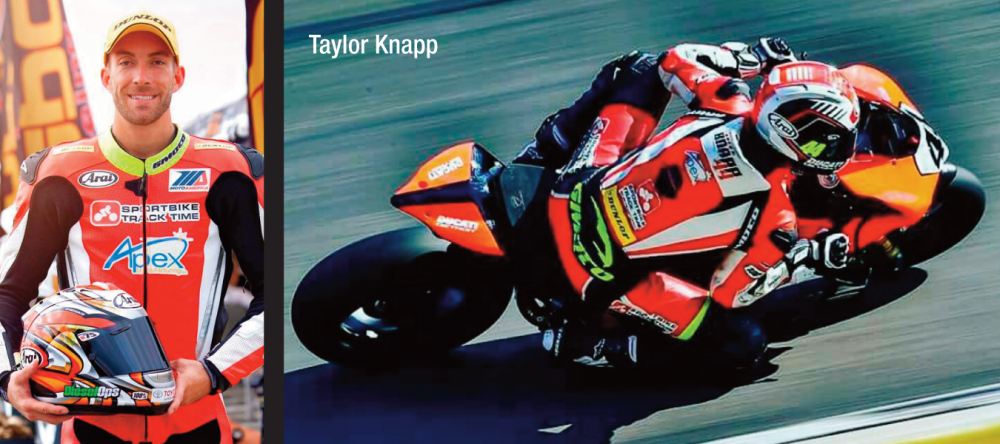 Taylor Knapp to Join Dunlop Motorcycle Tire-Testing Team
