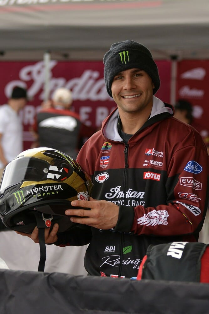 2017 Cycle News Rider Of The Year And 2017 American Flat Track Twins Champion Jared Mees
