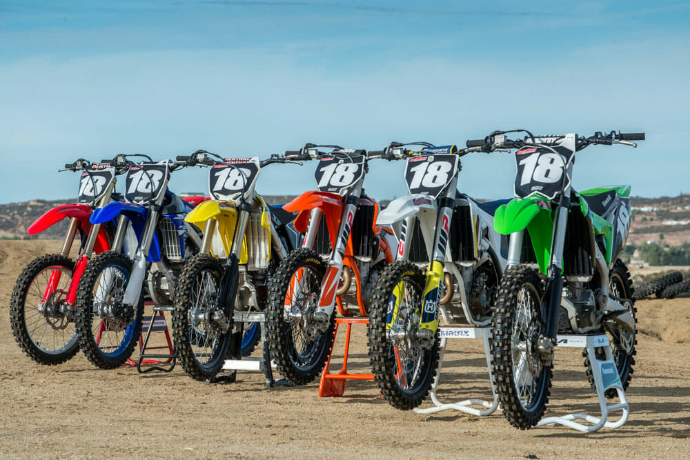 2018 250F Motocross Shootout