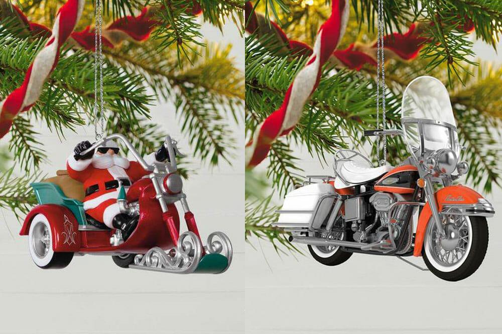 Hallmark Motorcycle Ornaments
