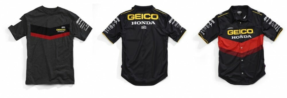 100 Percent Releases 2018 GEICO Honda Collection