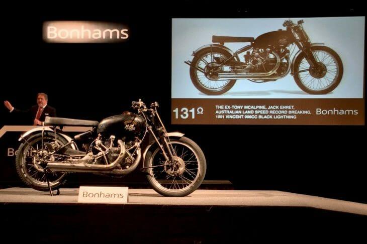 1951 Vincent Black Lightning Motorcycle