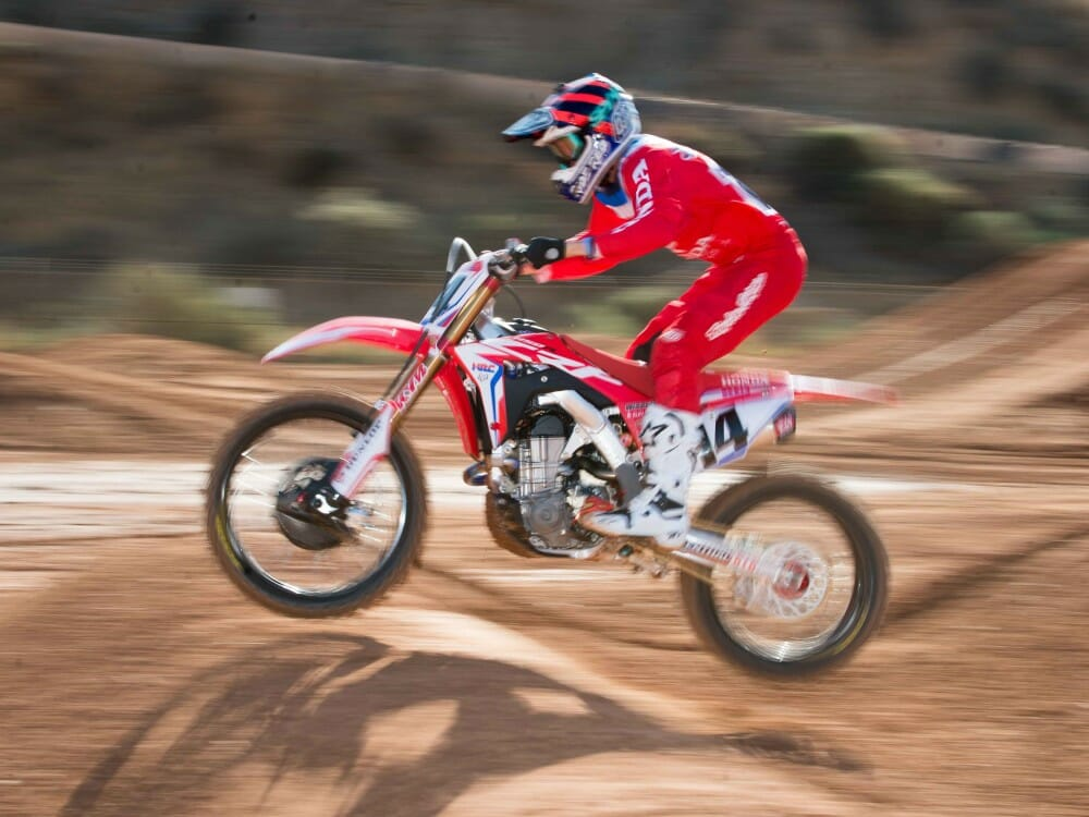 Cole Seely 2018 Team Honda Intro action