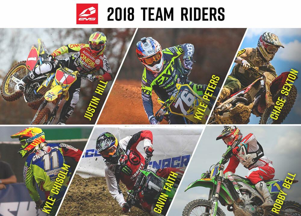 EVS 2018 rider_announcement