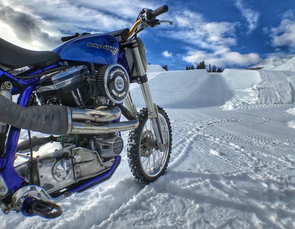 Harley-Davidson Snow Hill Climb Motorcycling Debut at X Games