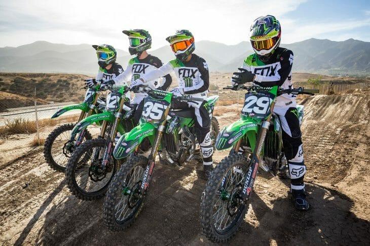 FORKNER DAVALOS Monster Energy Pro Circuit Kawasaki Supercross Team