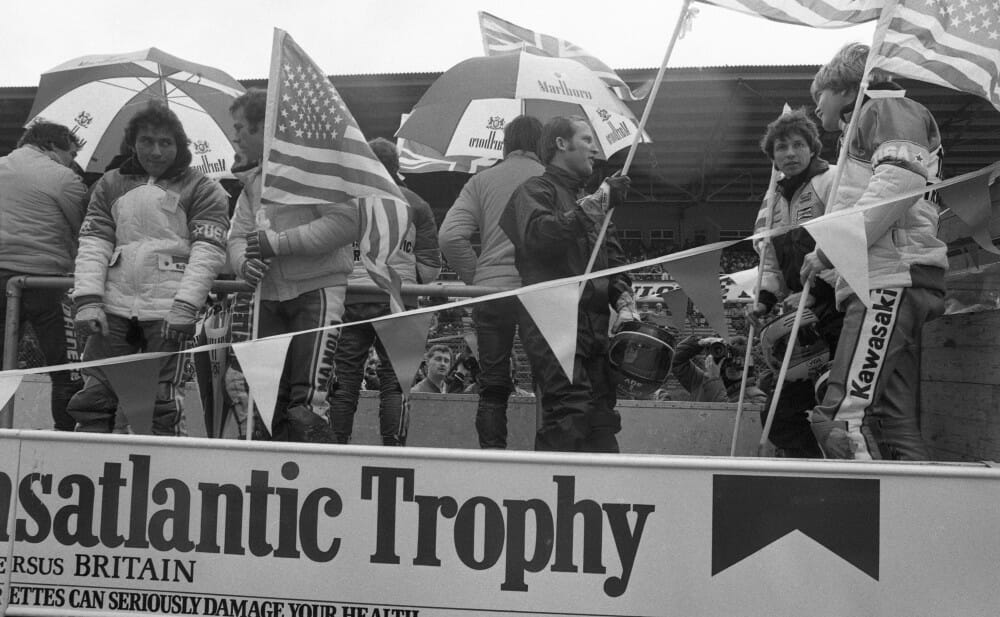 Team USA at the 1983 Transatlantic Match Races