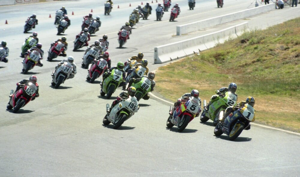 1996 AMA Pro Honda Oils 600 Supersport Series at Sears Point (Sonoma) Raceway