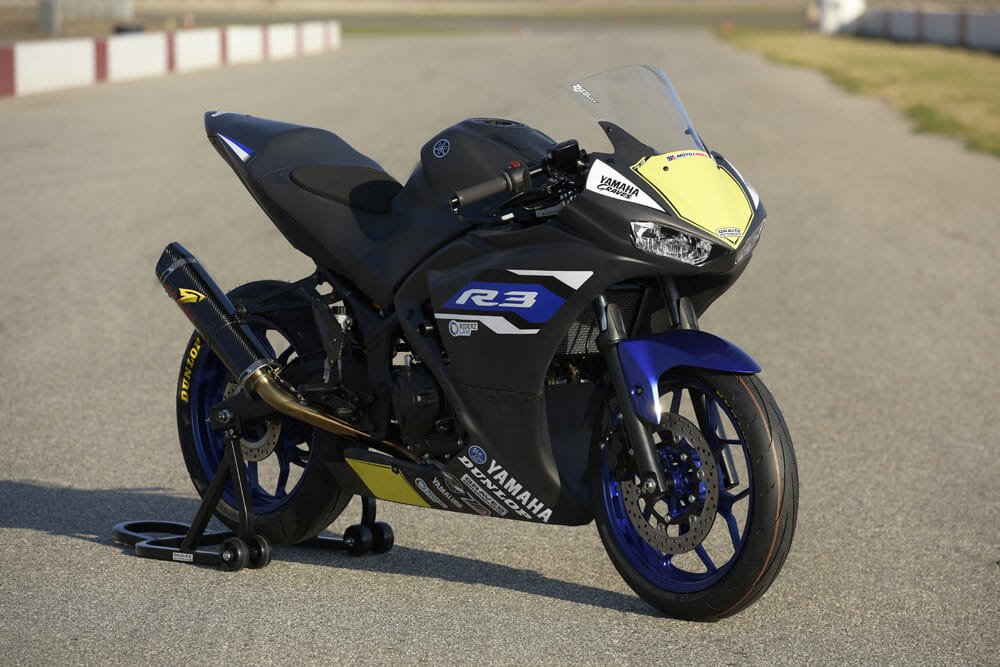 graves yamaha yzf r3 racer test cycle news. Black Bedroom Furniture Sets. Home Design Ideas