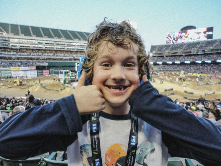 First Supercross | Supercross, Through The Eyes of a Kid