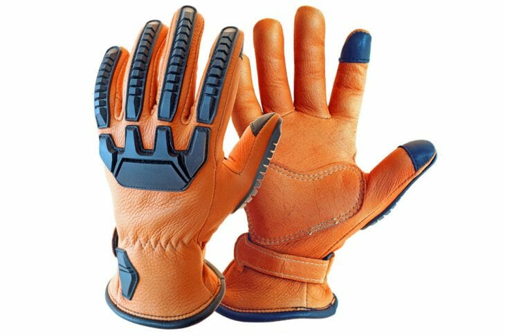 Lee Parks Design Sumo™ Deerskin Motorcycle Gloves