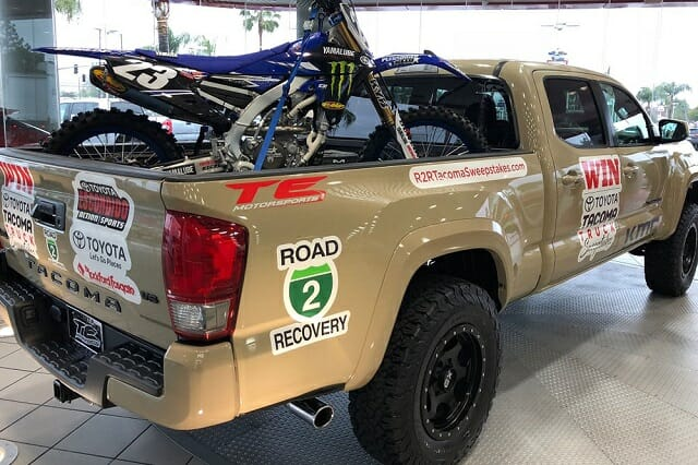Road 2 Recovery Toyota Tacoma Truck Sweepstakes