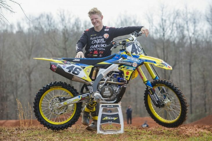 Hill To Race 450SX At Tampa Supercross