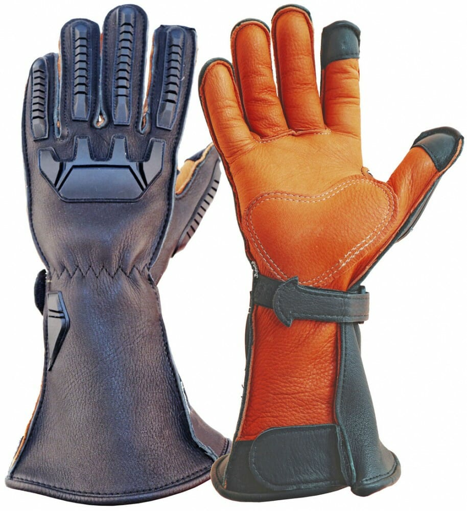 Lee Parks Design Sumo™ Deerskin Motorcycle Gloves