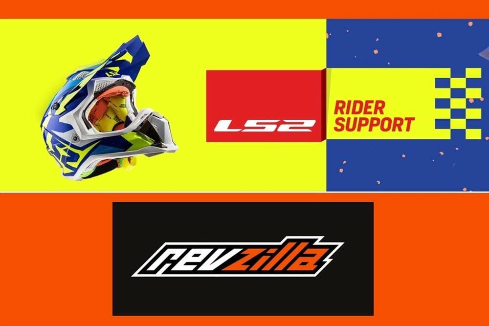 2018 LS2 Helmet Sponsorship via Revzilla