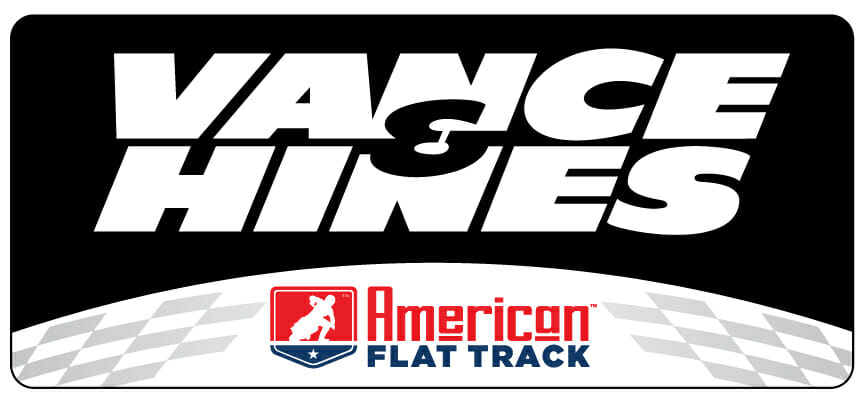 Vance & Hines Launches Officially Licensed American Flat Track Exhaust System for AFT Singlesq