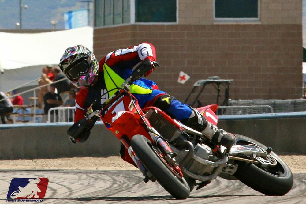 METZELER Returns as Official Tire of the AMA Supermoto Championship