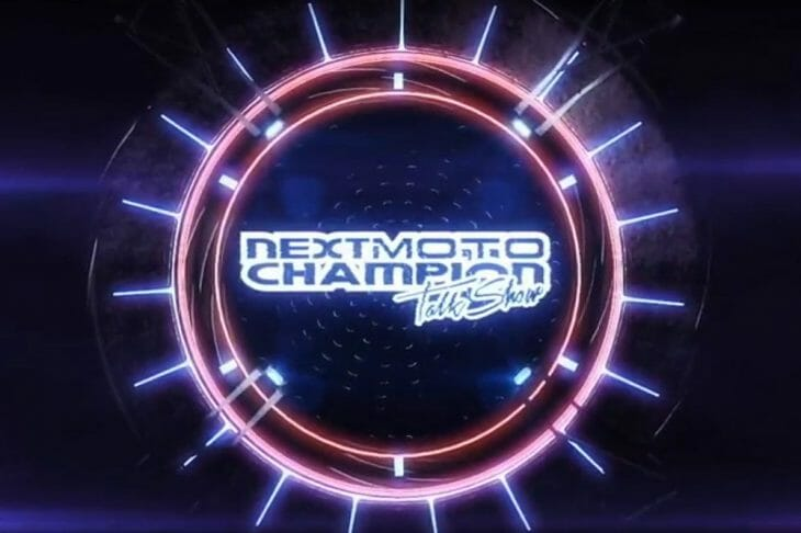 Next Moto Champion Talk Show Logo