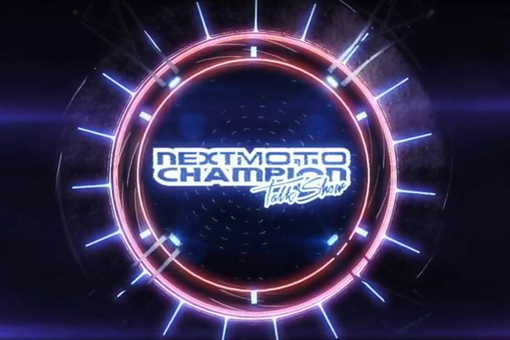 Next Moto Champion Talk Show Logo