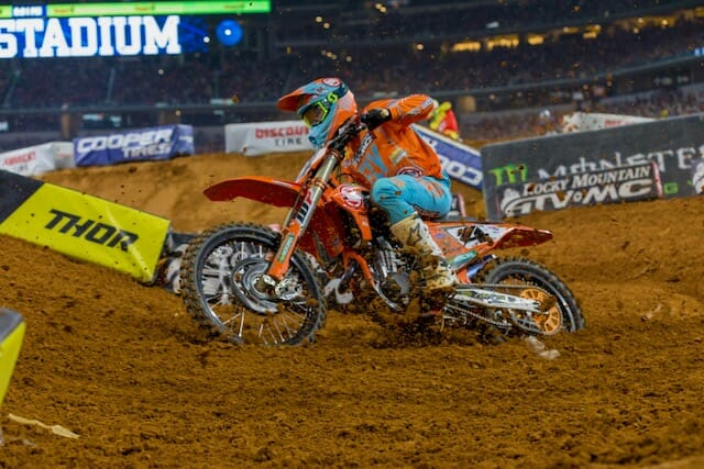 2018 Arlington 450cc Supercross Results