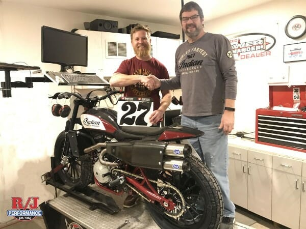 """Robbie """"Bugs"""" Pearson to run Indian Scout FTR750 for 2018 American Flat Track season"""
