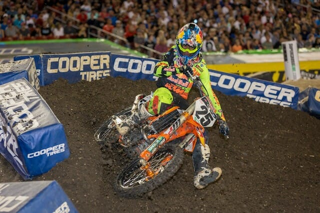 2018 Tampa 450cc Supercross Results
