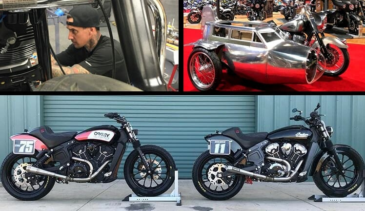 Carey Hart Becomes Dunlop Motorcycle Tire Ambassador
