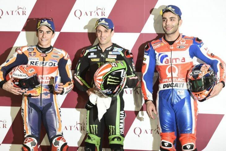2018 Qatar MotoGP Saturday