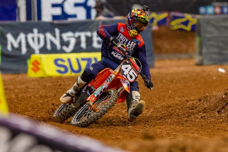 2018 Atlanta 250cc Supercross Results