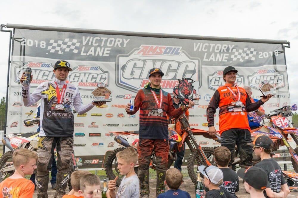 Russell Wins Palatka Wild Boar GNCC