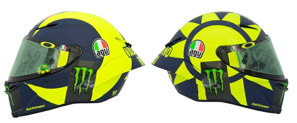 Valentino Rossi AGV Pista GP R Soleluna