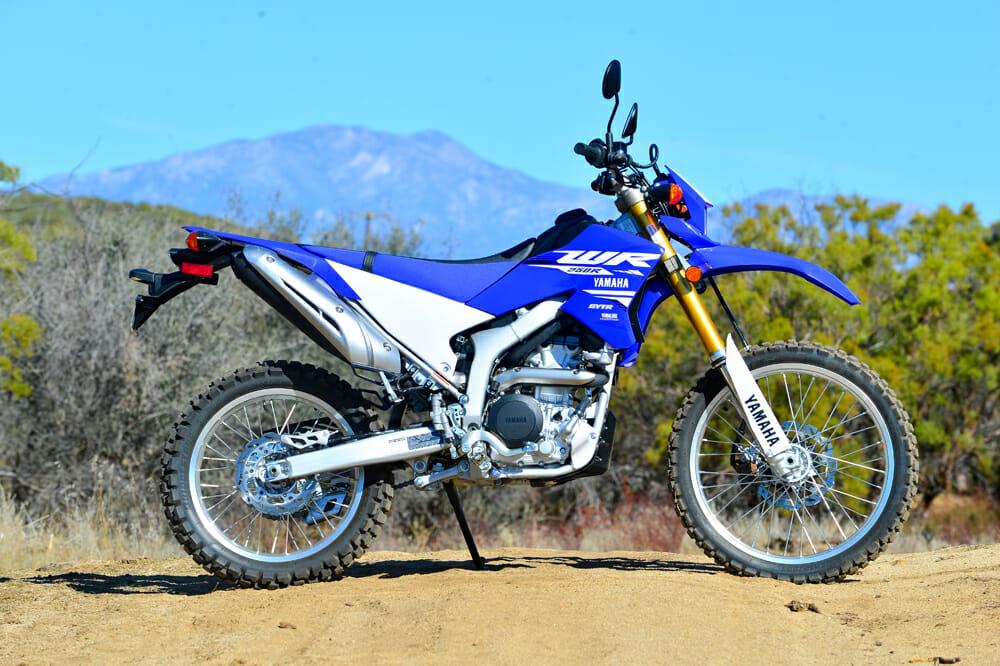 2018 250cc dual sport shootout cycle news for Yamaha dual sports