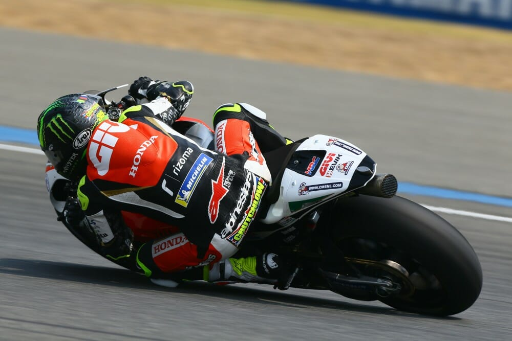 Chatting With LCR Honda CASTROL'S Cal Crutchlow: Interview