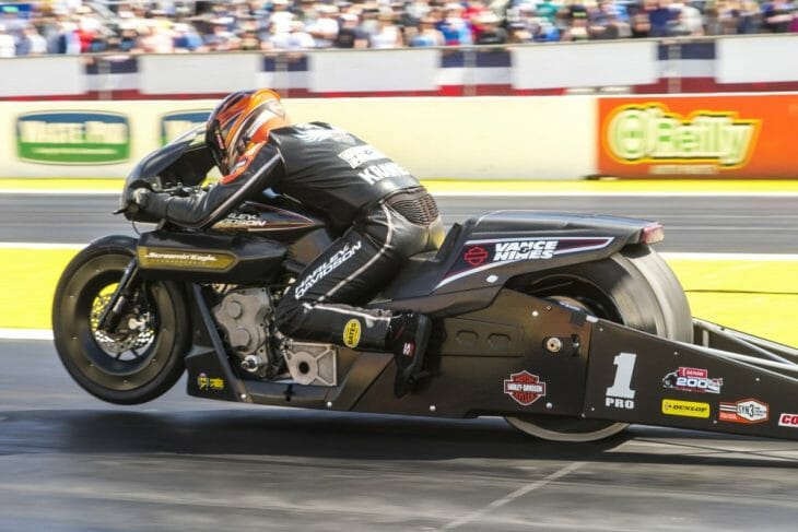 2018 NHRA Pro Stock Motorcycle Gainesville Results
