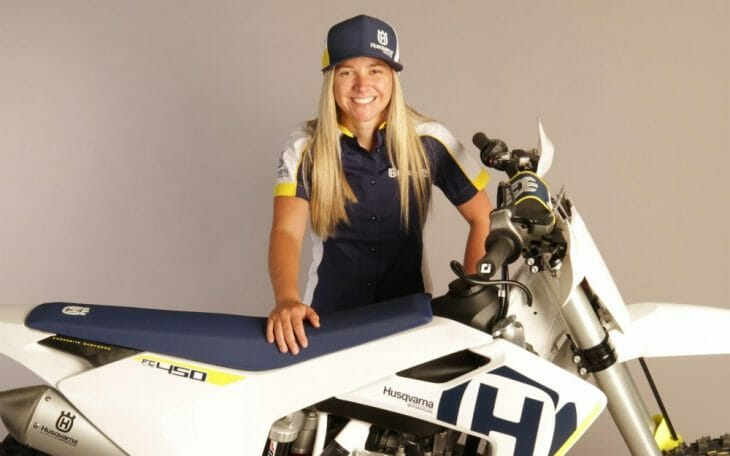 Shayna Texter Joins Husqvarna For AFT