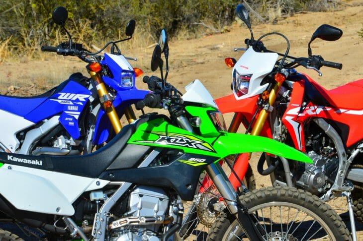 2018 250cc Dual-Sport Shootout