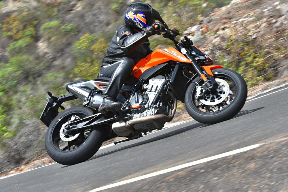 2019 KTM 790 Duke