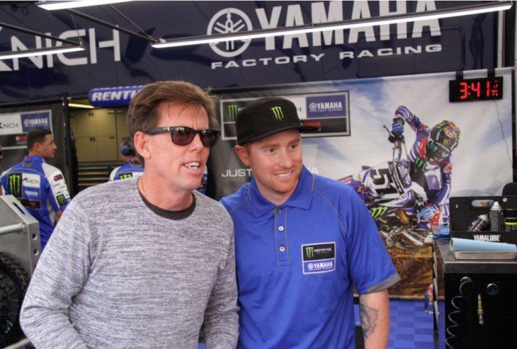 Bob Hannah and Tag Metals Brand Ambassador Ryan Villopoto