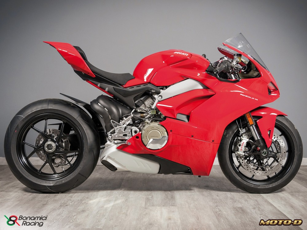 2018 ducati panigale v4 accessories from bonamici racing cycle news. Black Bedroom Furniture Sets. Home Design Ideas