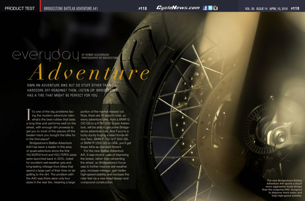 Bridgestone Battlax Adventure A41
