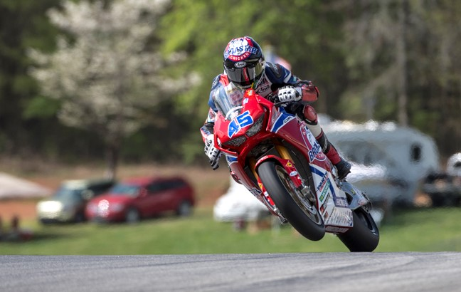 Cameron Petersen Genuine Broaster Chicken / American Honda Team