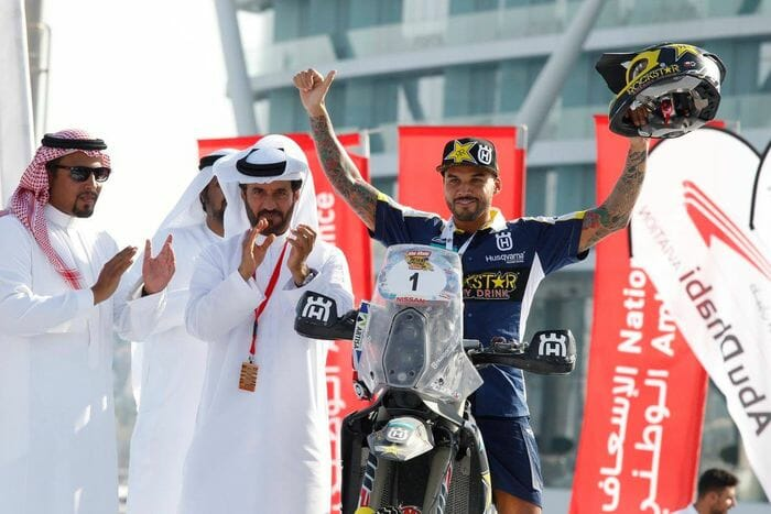 FIM Cross-Country Rallies Abu Dhabi Desert Challenge
