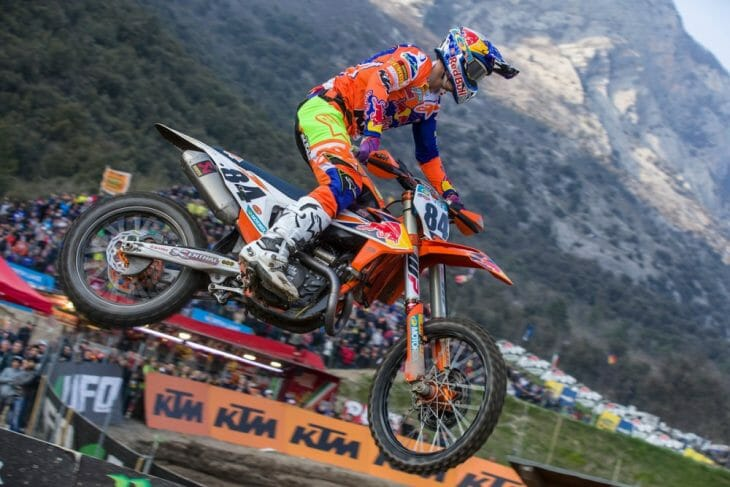 MXGP Of Trentino Results 2018