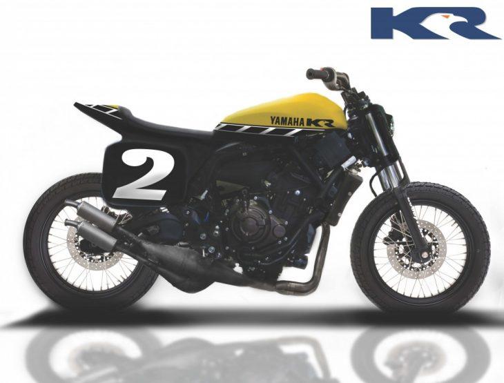 Kenny Roberts Customized Yamaha XSR700 Showcased