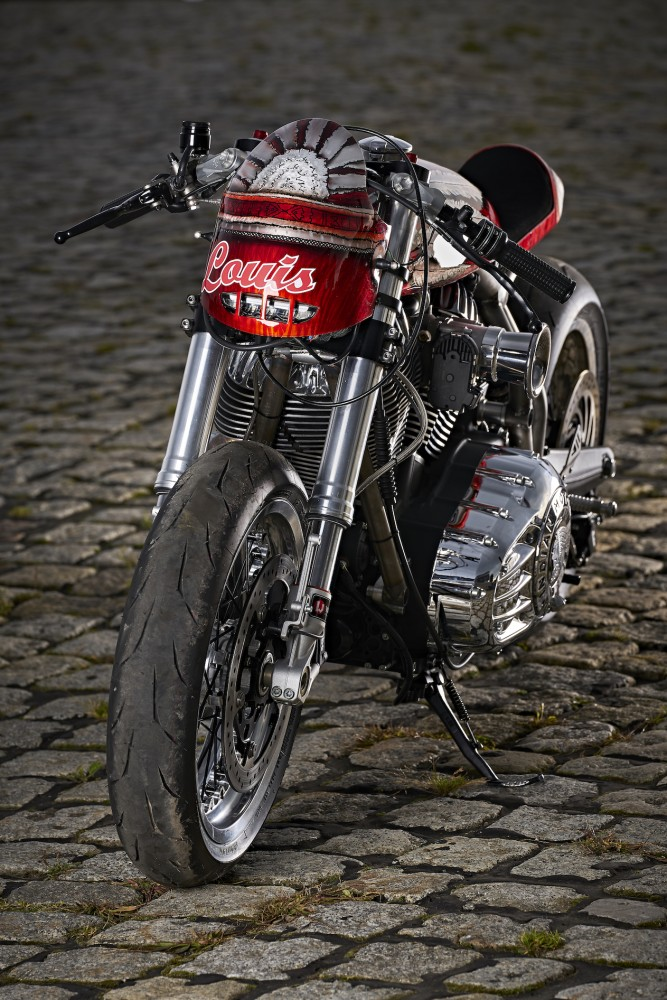 Engina | Indian Motorcycle Café Racer