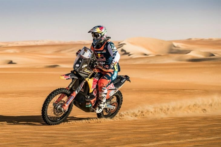 KTM Cross-Country Rallies Race Update